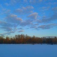 Розовые облака заката :: Сапсан
