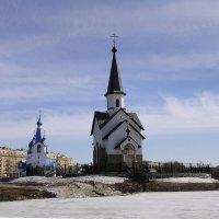 Церковь Рождества Христова, Церковь св. Георгия Победоносца :: Елена Павлова (Смолова)