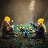 Жёлтые тюльпаны :: Татьяна Бурыкина