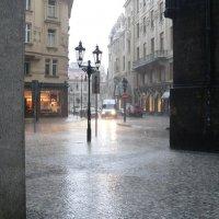 Дождь в Праге. :: Андрей Дурапов