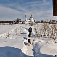 Свято-Никольский женский монастырь с.Санино  Суздальского района :: АЛЕКСАНДР СУВОРОВ