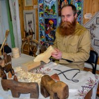 деревянных дел мастер :: леонид логинов