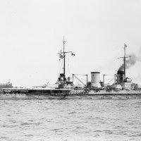 """German battlecruiser SMS """"Moltke"""" at Hampton Roads, Virginia, June 1912 :: Александр"""