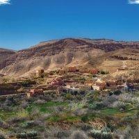 Оазис в Атласских горах...Марокко.Африка! :: Александр Вивчарик