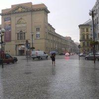 На Прагу падает дождь... :: Андрей Дурапов