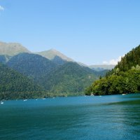 Озеро Рица :: Lersa