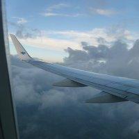 Под крылом самолёта 11 000 метров. :: Alexey YakovLev
