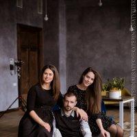 Надя, Настя и Андрей :: Ekaterina Usatykh