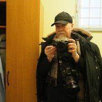 Отражение в зеркале или Селфи в казенном доме :: Михаил Зобов