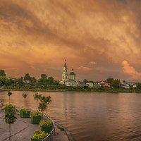 Закат над Тверью :: Natalia