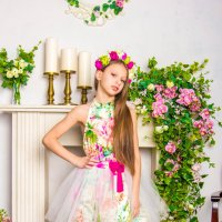 Девочка весна :: Анна Кузнецова