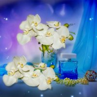 Голубой флакон :: Наталия Лыкова