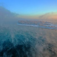 Туманная Ангара :: Анатолий Иргл