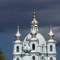 Смольный собор - три минуты спустя :: Валентина Харламова