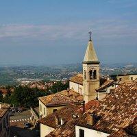 Крыши Сан-Марино :: Natali Positive