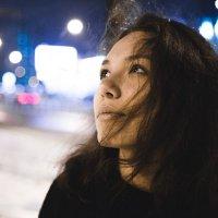 Зимняя ночь :: Анастасия Кактус