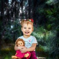Малышка в лесу чудес))) :: Владимир Деньгуб