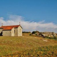 Небольшая церковь на берегу Атлантического океана :: Aida10