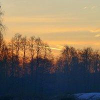Солнышко позолотило небо :: Татьяна Лобанова