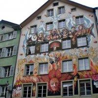 Швейцария Люцерн - город разрисованных домов :: backareva.irina Бакарева