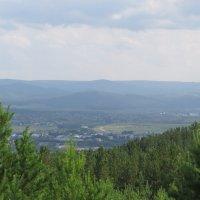 Вид с горы :: Вера Щукина