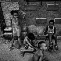 Havana Kids street portrait :: Станислав Ситников
