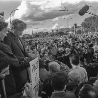 Борис Ельцин на митинге в Лужниках 21 мая 1989 г. :: Игорь Олегович Кравченко
