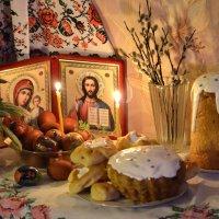 Пасхальный вечер :: galina tihonova