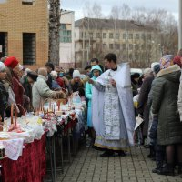 Освящение куличей :: Татьяна Панчешная