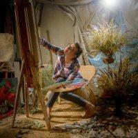 Мастерская художника-последний штрих... :: Олег Сидорин