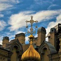 Золотой купол и крест Главного входа... :: Sergey Gordoff