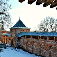 Вид с крепостной стены Зарайского кремля. :: Михаил Столяров