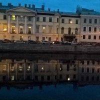 На Фонтанке вечером :: Митя Дмитрий Митя