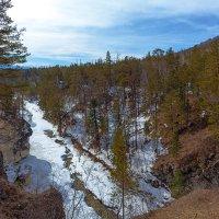 Ущелье реки Кынгарга :: Анатолий Иргл