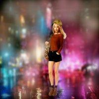 В ночном городе :: Natalia