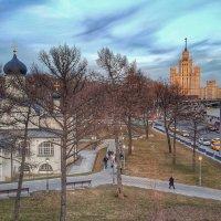 Весна на Москорецкой набережной :: Александр Nik'Leme