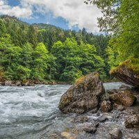 Река Большая Лаба. :: Аnatoly Gaponenko