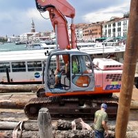 Венеция ..там  меняют сваи... :: backareva.irina Бакарева