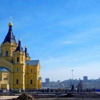 Собор Александра Невского на Стрелке :: Наталья Сазонова