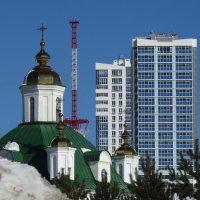 Кто выше... :: Валерий Чепкасов