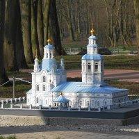 Красноярская Покровская церковь в миниатюре :: Маргарита Батырева