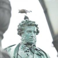 Пушкин и голуби. :: Evgen Polyakov