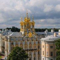 Царское село. Екатерининский дворец. Вид с Певческой башни. :: Надежда Лаптева
