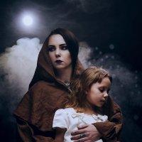"""Жанровый портрет """"Даша с Лизой"""" :: Александр Амеличкин"""