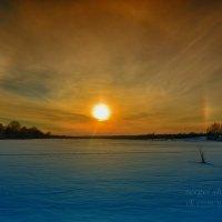 Закат на исходе зимы :: Сергей Шаталов