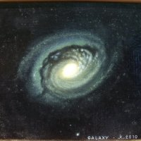 Картина Галактика :: Марина Чайкина