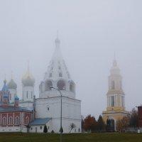 Туман над Коломной. :: Старичок Иванов