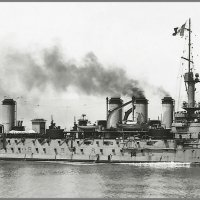 "French armoured cruiser ""Edgar Quinet"" in 1907. :: Александр"