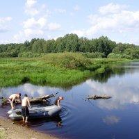 На рыбалку.... :: Светлана Z.