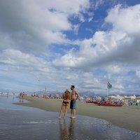 А на море белый песок ... :: Лариса Корженевская
